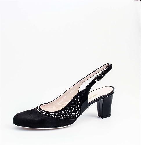 MELLUSO X560 Sandalias mujer negro 41
