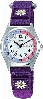 Lorus Girls Analogue Classic Quartz Watch with Nylon Strap RG251KX9