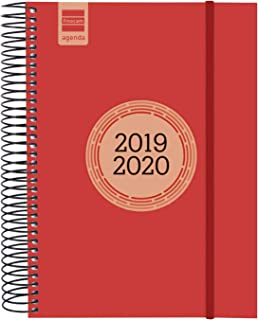 Amazon.es: Rojo - Agendas y calendarios / Calendarios ...