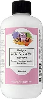 Art Institute Glitter Refill Bottle, 8 oz - Single Pack, 4336846143 Dries Clear Adhesive Glue 8 Ounce (Flat Cap) Re