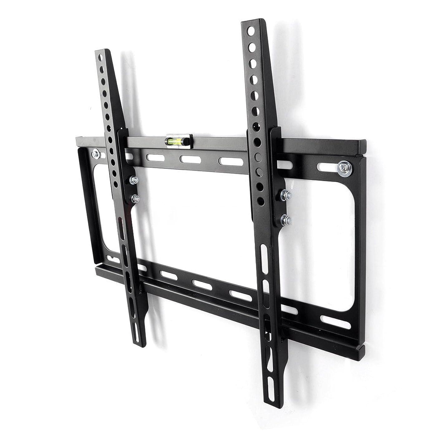 彼自身生きているジムFLEXIMOUNTS テレビ壁掛け金具 角度調節可能 26~55インチLED液晶テレビ推奨 耐荷重30KG 左右移動式 T012