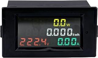 Yeecoo AC 80-300V 100A マルチメーターデジタル 電圧アンペア数 電力エネルギーメーター 電圧計電流計 テスターゲージモニター LCD表示 電圧CTによる 電流測定