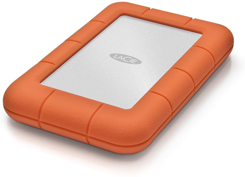 LaCie Rugged External Drive Portable