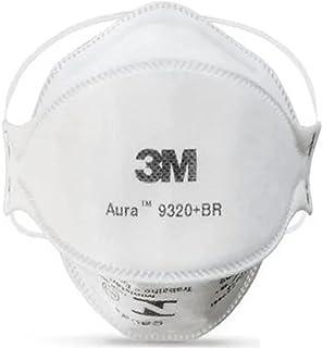 Kit 10 Unid - Máscara 3m Aura 9320+br Pff2 N95 Respirador S/Válvula