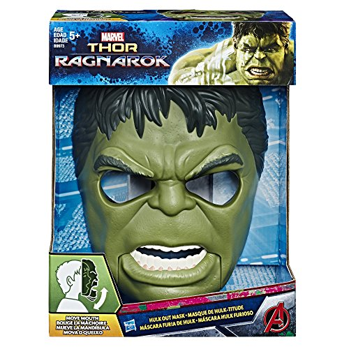 Marvel Avengers Mascara Hulk con Movimiento