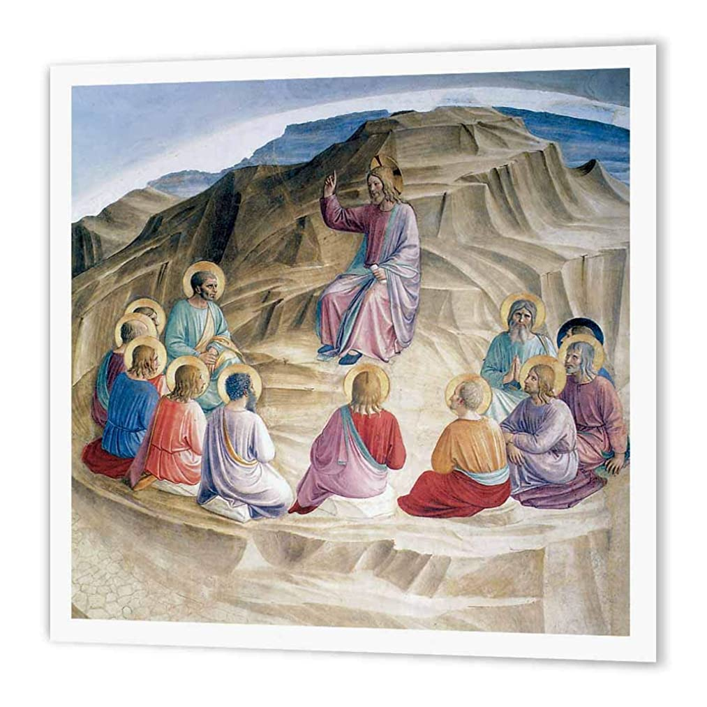 3dRose ht_130050_2 The Sermon on The Mount by Fra Angelico Iron on Heat Transfer Paper for White Material, 6 by 6