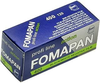 Foma Fomapan 400 ISO Black & White Negative Film, 120 Size