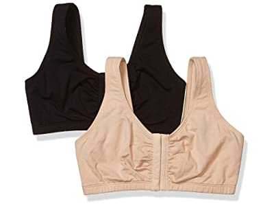 Fruit Of The Loom Front Close Sports Bra