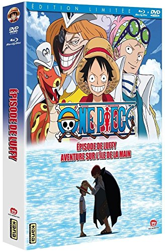 One Piece-Episode of Luffy : Aventure sur l'Ile de la Main [Combo Blu-Ray + DVD-Édition Limitée]