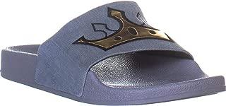 Sam Edelman Circus Flynn Slide Sandals, Blue Denim