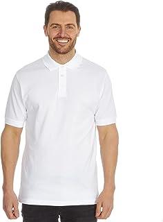 B&C Mens Fair Trade Organic Cotton Plain Short Sleeve Polo Shirt Top
