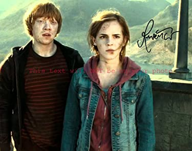 Harry Potter and the Deathly Hallows – Part 2 Rupert Grint Autographed 8x10 Glossy Photo
