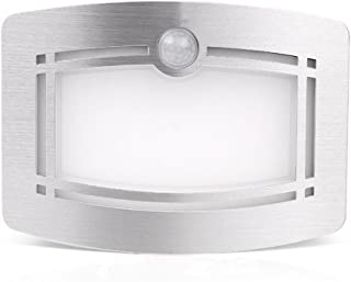 Motion Sensor Closet Light, OxyLED Wall Lights Battery Operated, Luxury Aluminum Stick-on Anywhere Wall Lamp Sconces, Moti...