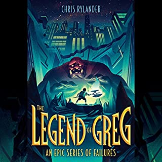 The Legend of Greg audiobook cover art