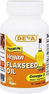 Deva Vegan Flaxseed Oil (90 Capsules)