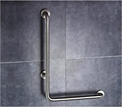 LGLFDJ Handicap Grab Bars Bathroom Support Rails, L-Shaped Stainless Steel Bathtub Handrails, Wall-Mounted Safety Handle, ...