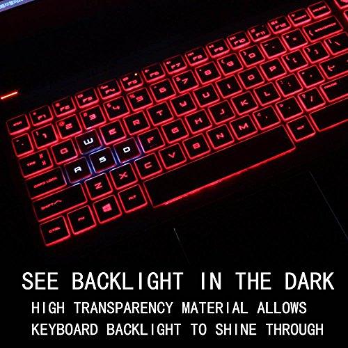 "Keyboard Cover for Acer Nitro 5 AN515 15.6 / Predator Helios 300 15.6"" 17.3"" Gaming Laptop G3-571 G3-572 PH315-51 PH317-52 /Acer Aspire VX5-591G VN7-793G, Ultra Thin Acer Gaming Laptop Cover, TPU"