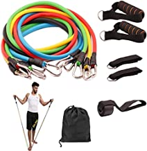 Resistance Bands Set 11 Pieces with Exercise Tube Bands