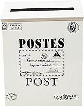LQJin 9 Kleuren Post Box Vintage Metalen Mail Box Case Muur Opknoping Ijzeren Postbus Mail Postbrieven Krantendoos Home De...