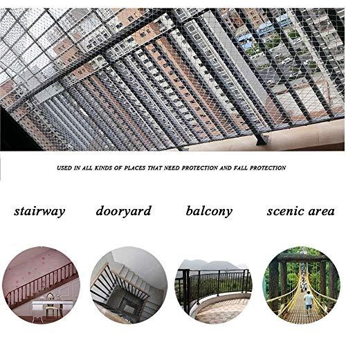 xkk Protezione Net for Balcone, Safe Kids Rete Bianca Stair anticaduta Net soffitto Coperto Decorazioni Netto for Ringhiera Scuola Materna Playground Photo Wall (Size : 1 * 8m(3.3ft*26ft))