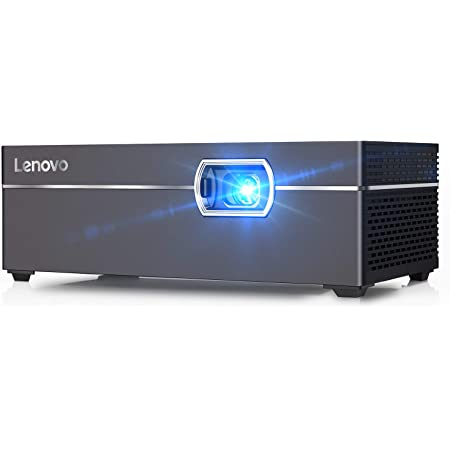 Lenovo M1 Smart Mini Projector Intelligent Touch Control Pocket-Sized 200 ANSI Lumens Portable DLP Video Projectors with WiFi 110 Inch Picture Home Entertainment Movie Projector