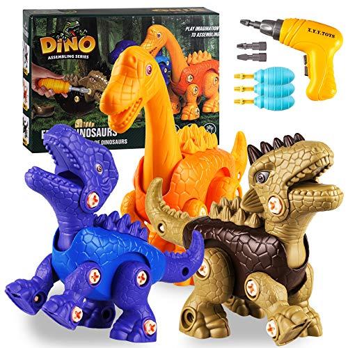 Yojoloin Dinosaurios Juguetes con Taladro