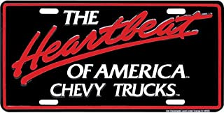 Signs 4 Fun Slact Chevy Truck Heartbeat, License Plate