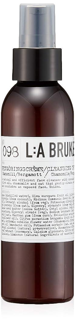 パースブラックボロウ注目すべき神経衰弱L:a Bruket (ラ ブルケット) クレンジングクリーム (カモミール?ベルガモット)120ml