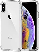 Spigen 057CS22127 Ultra Hybrid Funda para iPhone XS/X - Transparente
