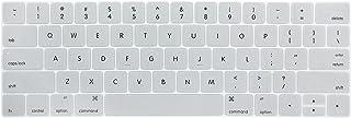 Auleset Silikon PC laptop tangentbord skydd skyddsfilm för MacBook 11/12/13/15 tum – silver för retina 12 tum (US)