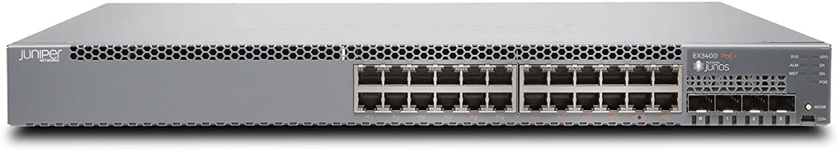 Juniper EX Series EX3400-24P 24 Port Switch