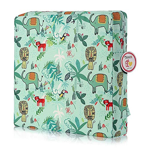 Zicac High Chair Portable Booster Seat Cushion Travel Dining...