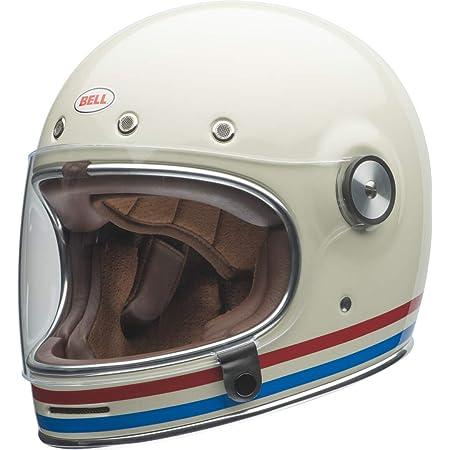 Bell Bullitt Dlx Stripes Helmet Pearl White Xs Auto