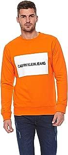 Calvin Klein Hoodies for men in Orange, Size:XL