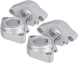 Glamorway Pack of 4Pcs SHF Model Aluminum Linear Rod Rail Shaft Support CNC Route (SHF25)