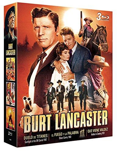 Burt Lancaster 3 BDs (Que Viene Valdez + El Fuego y la Palabra + Duelo de Titanes) [Blu-ray]