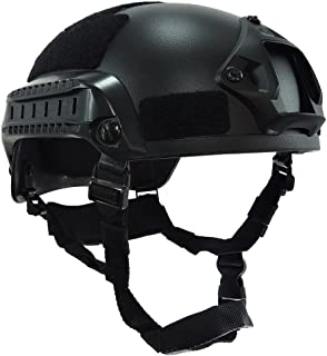 carbon high cut helmet