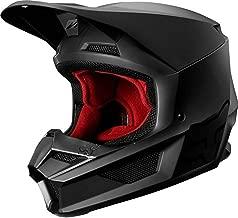 2019 Fox Racing V1 Matte Men's Off-Road Motorcycle Helmet - Matte Black/X-Large