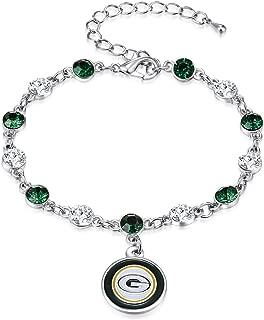 NFL Two Tone Crystal Bracelet