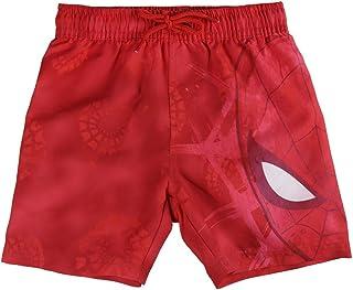 Spiderman S0713004 One Piece Swimsuit, Rojo, 6 Boys