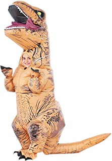 Sungkong Costume Inflatable Dinosaur T-rex Fancy Dress for Cosplay Party (Child)