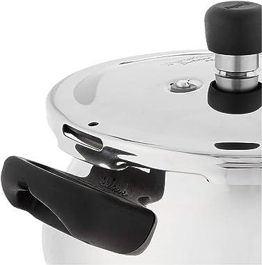 Prestige Deluxe Stainless Steel Mini Handi Pressure Cooker, 3.3-Liter
