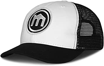 product image for Mitscoots Outfitters Black and White Trucker Logo Hat