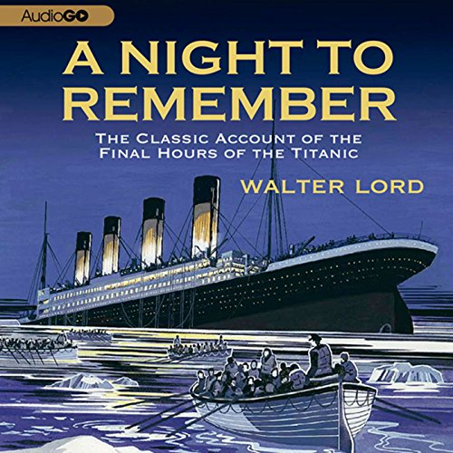 A Night to Remember audiobook cover art