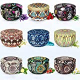 CoCo-Life Scented Candles Stress Relief Aromatherapy Candles Relaxation Gift Baskets for Women,...