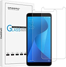 (2 Pack) Orzero for ASUS ZenFone Live L1 ZA550KL Tempered Glass Screen Protector, 2.5D Arc Edges 9 Hardness HD Clear Film Durable Cover Anti-Scratch Bubble-Free (Lifetime Replacement)