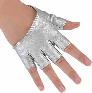Weixinbuy Women's Driving Fingerless Mittens Half Finger Gloves