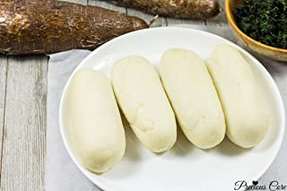Banku Ghana Staple Dish Fermented Meal of Maize or Cassava Corn Meal Dough Food - 10 Pieces