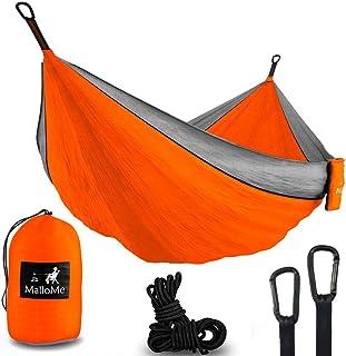 MalloMe Hammock Camping Portable Double Tree Hammocks -...
