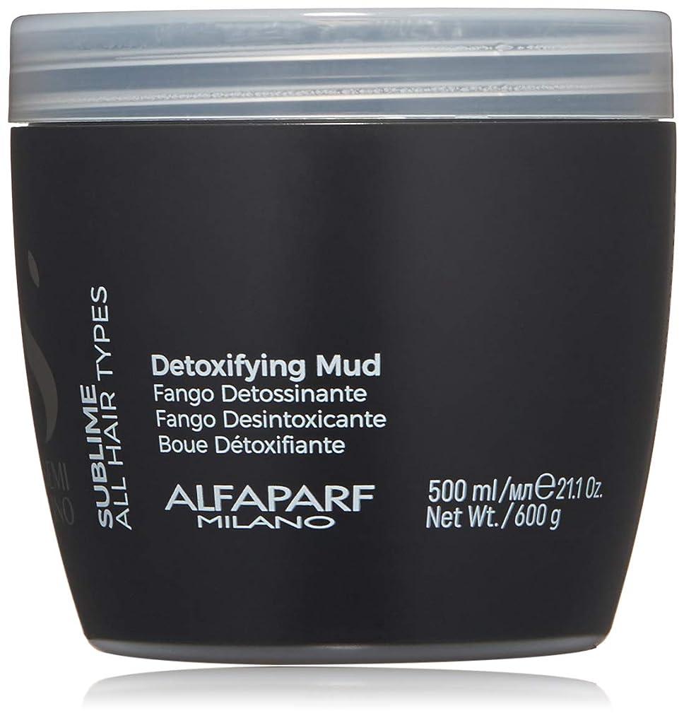 ピンコントラスト野心的アルファパルフ Semi Di Lino Sublime Detoxifying Mud (All Hair Types) 500ml/21.1oz並行輸入品
